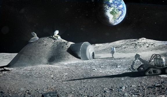 欧航局欲打印出月球村,3D打印如何帮助人类登天-希望zz