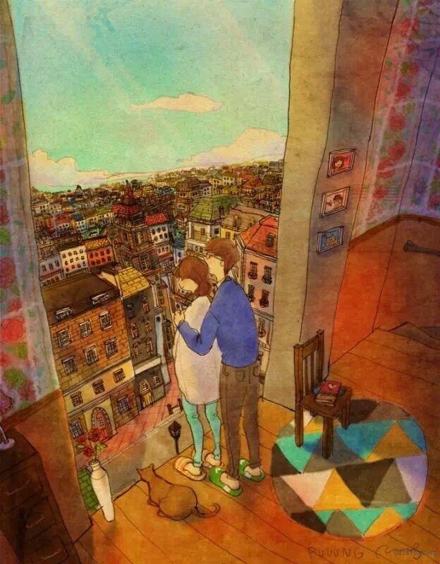 石乐用30幅图告诉你 爱是-希望zz