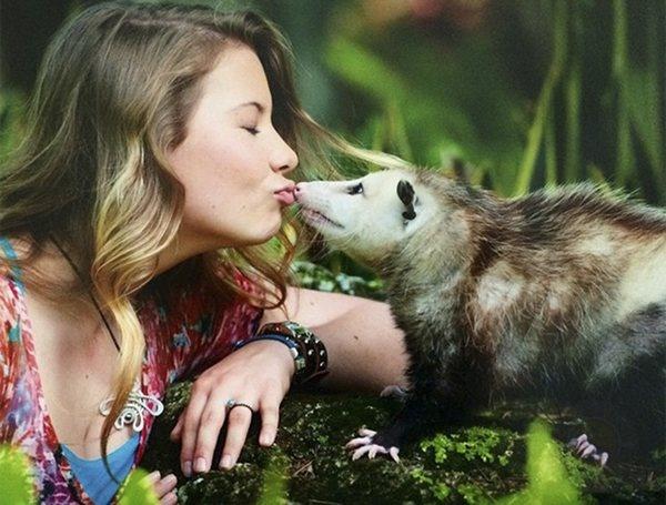 那些你所害怕的动物,都是她的好朋友-希望zz