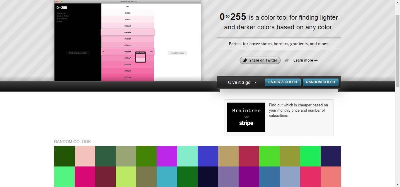 收藏 | 12个超好用的配色网站-希望zz